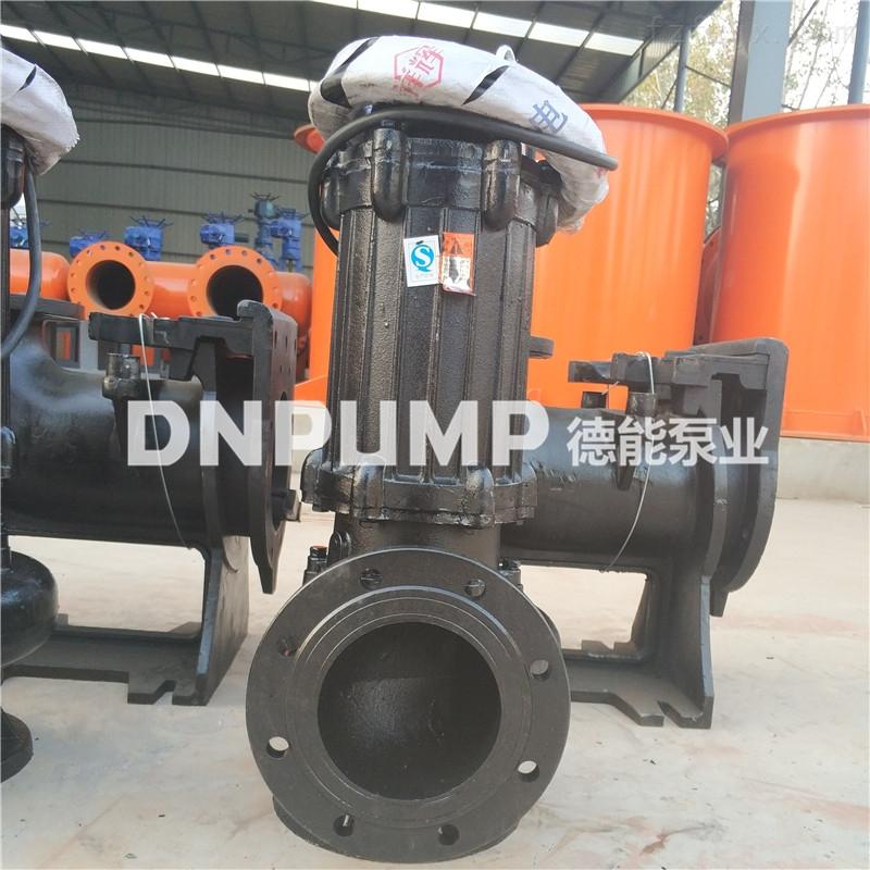 铸铁无阻塞潜水排污泵耦合式安装